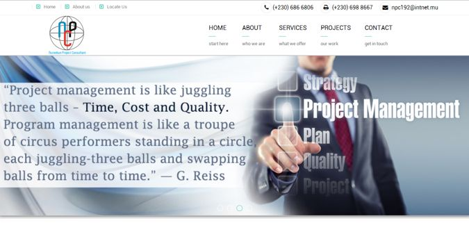 Project Consultant Web Design